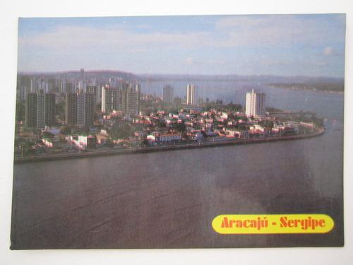 cartão postal antigo aracaju sergipe