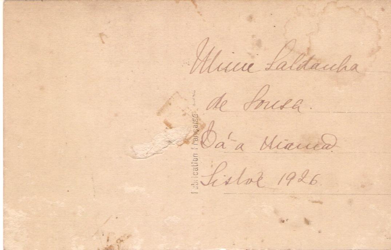 3f4bcb3140138 cartão postal antigo frança mulher de chapéu anos 20 léo. Carregando zoom.