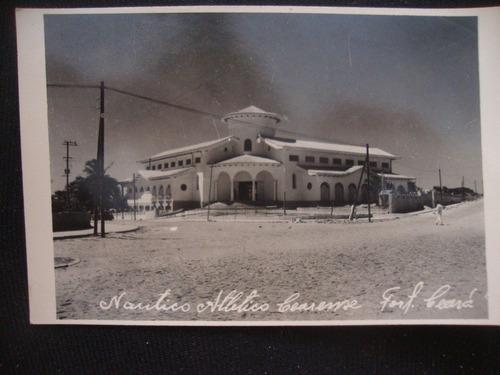 cartão postal antigo nautico atlético cearense fortaleza