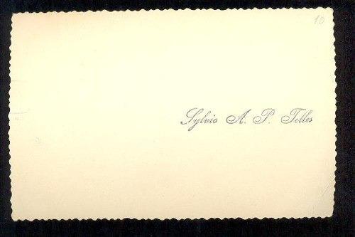 cartão postal antigo poços de caldas mg quisisana