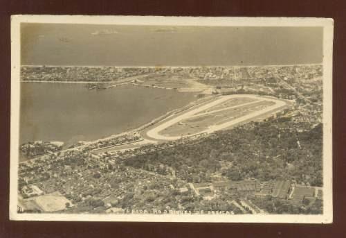 cartão postal antigo rio de janeiro lagoa rodrigo de freitas