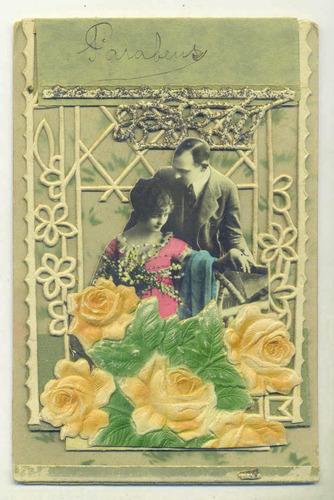 cartão postal de 1927 (país não identificado) -ótimo