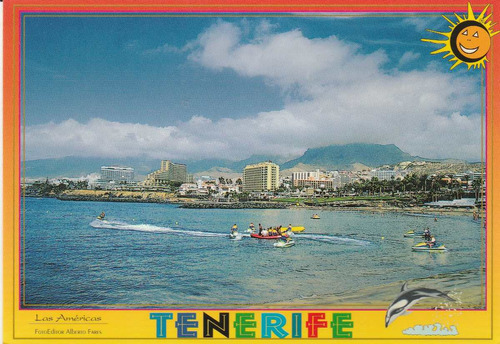 cartão postal - espanha - tenerife - ai6