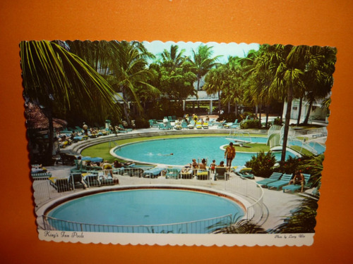 cartão postal  king's inn pools  .