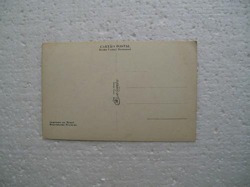 cartão postal - palácio boa vista - campos do jordão - sp