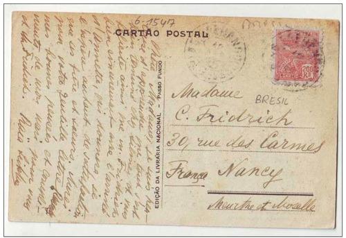 cartão postal passo fundo/rs-praça tamandaré-n.14