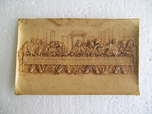 cartão postal santa ceia- itália- 1900- cartolina brevettata