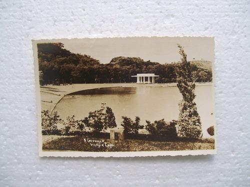 cartão postal - são lourenço - mg
