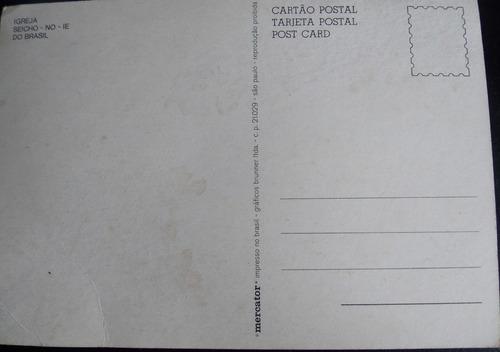 cartão postal são paulo igreja seicho no-ie  não circulado