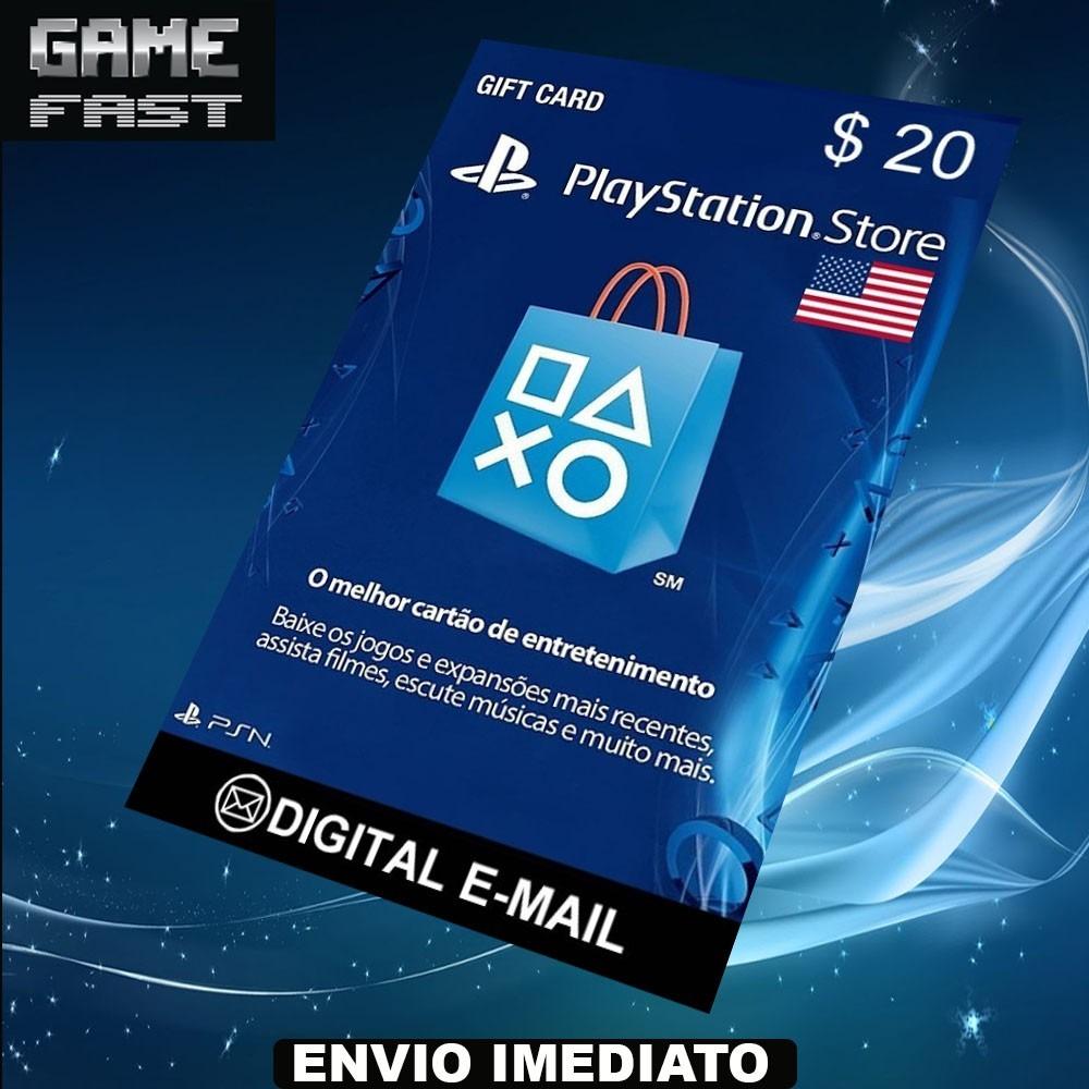 Carto Psn 20 Card Playstation Network R 82 Carregando Zoom