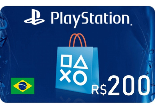 cartão psn brasileira r$ 200 cartão psn brasil 200 reais