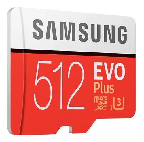 cartão samsung micro sd evo plus 512gb sdxc gopro  hero 4 5
