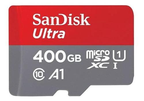 cartão sandisk ultra 400gb micro sd a1 uhs-i microsdxc sdxc