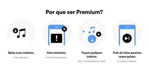 cartão spotify premium - r$ 17 reais - assinatura 1 mês
