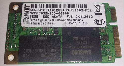 cartão ssd msata smart - 32gb