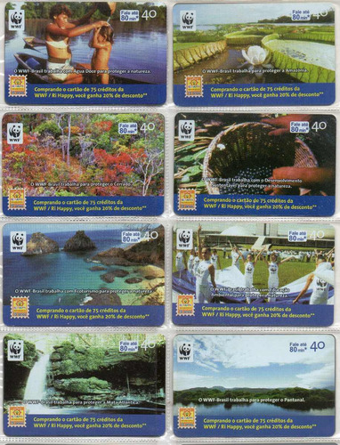 cartão telefônico wwf / ri-happy - s154