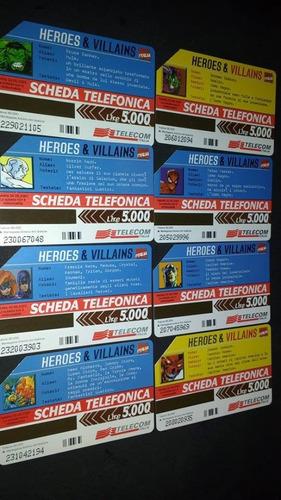 cartão telefonico da itália