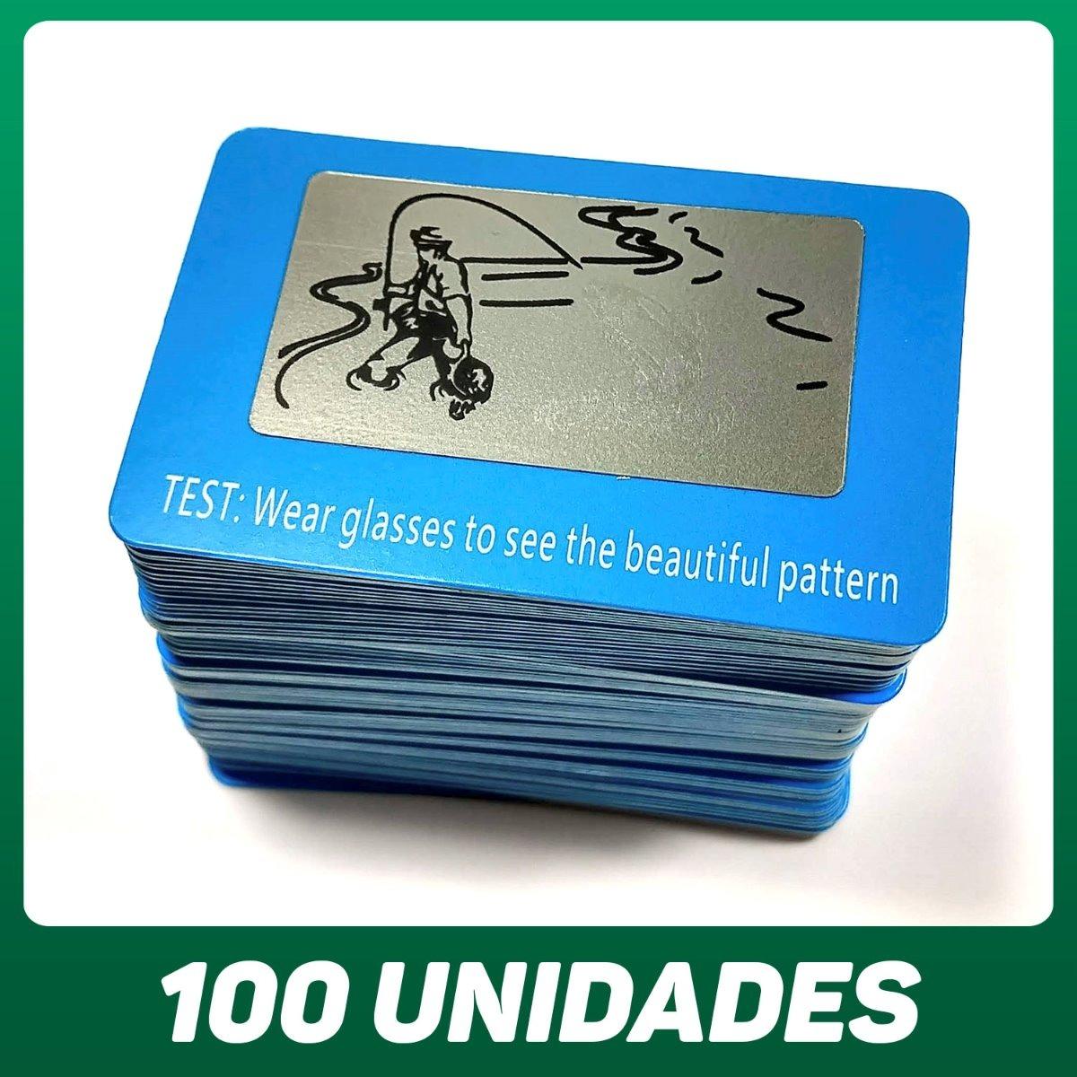 5a1f0f5520a90 cartão teste óculos polarizado lente polarizada 100 unidades. Carregando  zoom.
