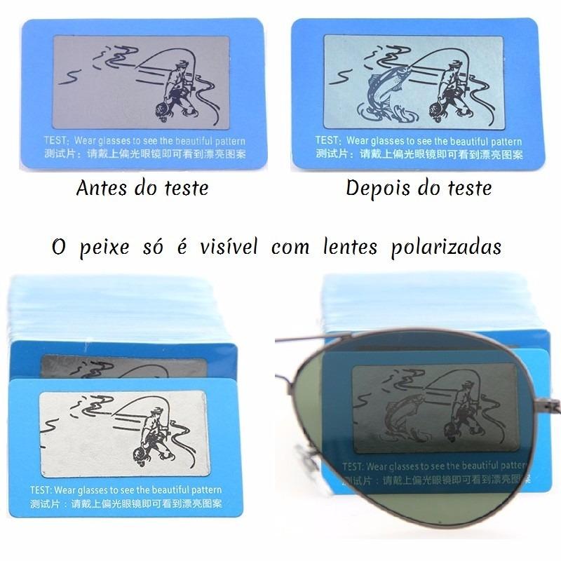 05776af1b84da cartão teste para determinar lentes de óculos polarizados. Carregando zoom.