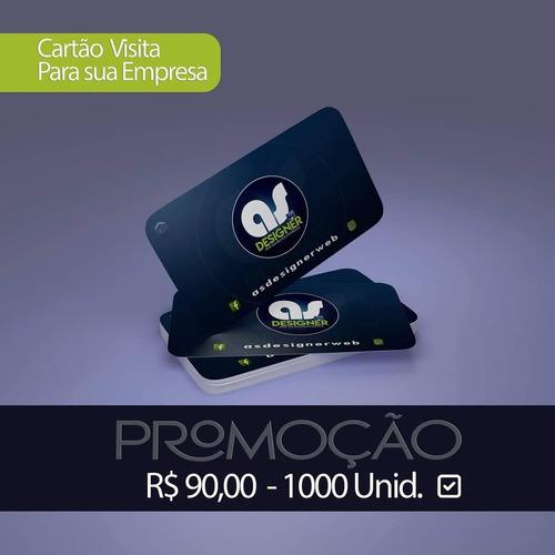 cartão visita (1000uni)