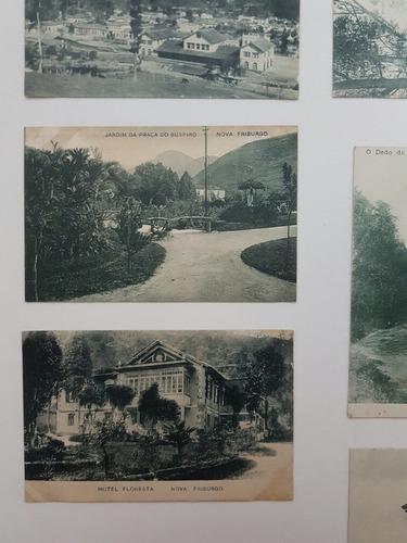 cartões postais antigos rio de janeiro nova friburgo lote 2