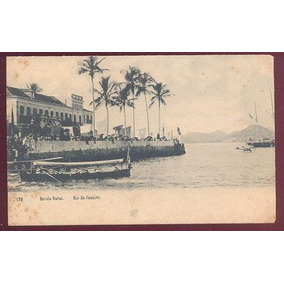 Cartão Postal Escola Naval Rio De Janeiro Ed A  Ribeiro