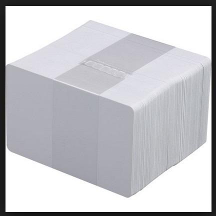 cartões pvc branco