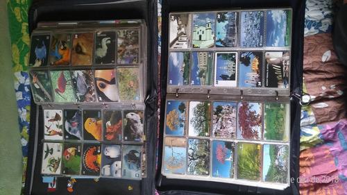 cartões telefônico coleção