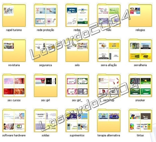 cartões visita gráfica 4.700 modelos corel extensão cdr