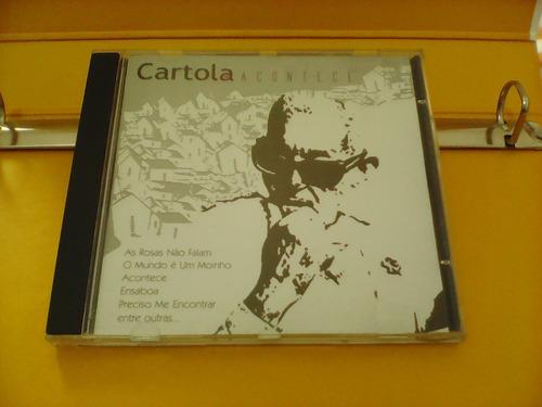 cartola - acontece - cd