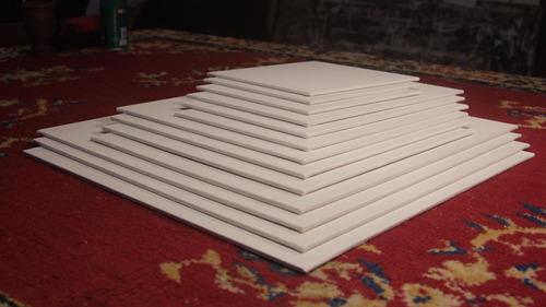 cartón entelado. 18 x 24 cm. pack de 10.calidad premium.