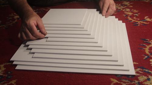 carton entelado 20x20 cm.calidad premium.francis b.