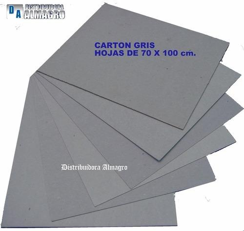 carton gris prensado 1.5 mm. cortado a5 - 21x14.5 paq.x10 u.