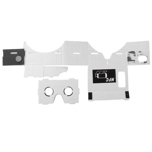 carton lente 3d realidad virtual tecnologia nfc tag para