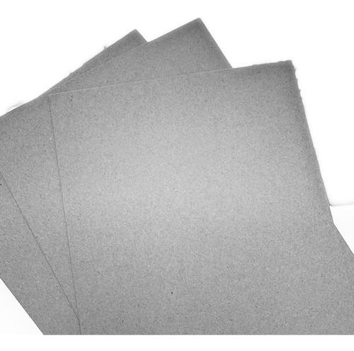 cartón piedra 1,5 mm tamaño oficio resma 10 hojas