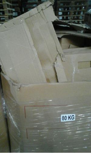 cartón reciclado - el precio es por 10 kg. (c/kg. $ 4)