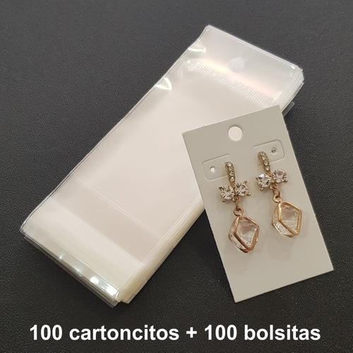 cartoncitos para empacar joyería in2x3+cel3c aretes