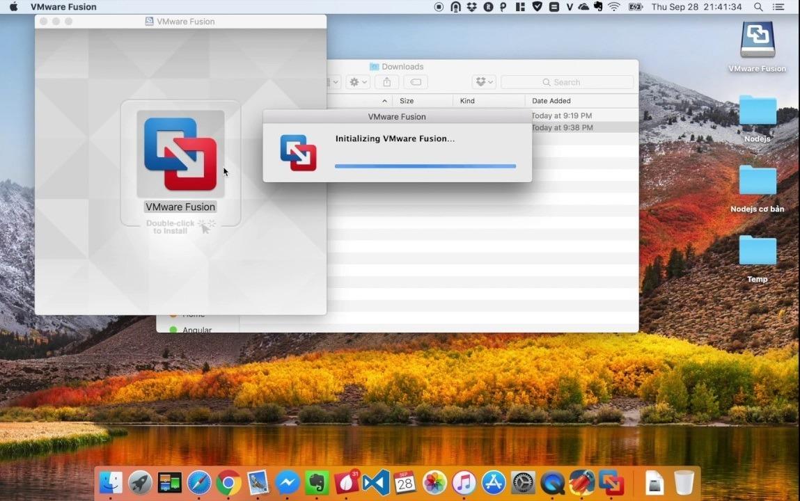 Cartonvmware Fusion Mac High Sierra,mojave,sierra,yosemite