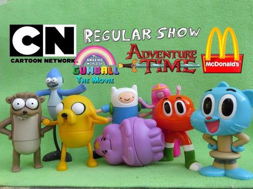 cartoon network coleccion  completa mc donalds 2016 en bolsa