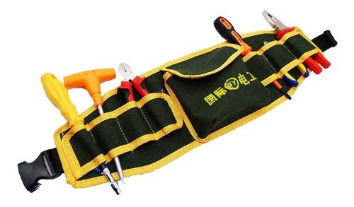 cartucheira cinto bolsa porta ferramentas eletricista promoç