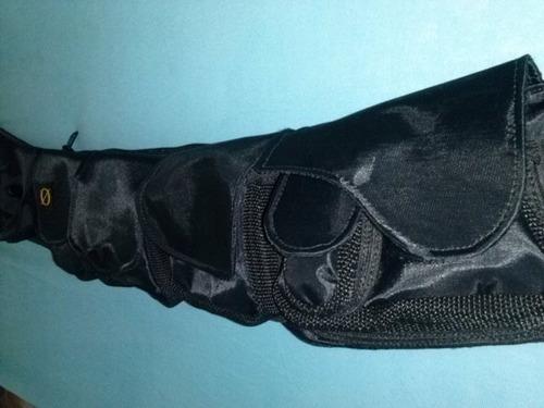cartucheira -modelo makalet em nylon - conjunto vazio -