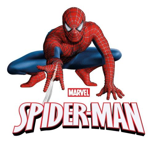 cartuchera 2 pisos tapas de lata hombre araña mundo manias