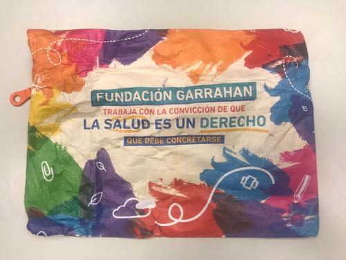 cartuchera colores - fundación garrahan