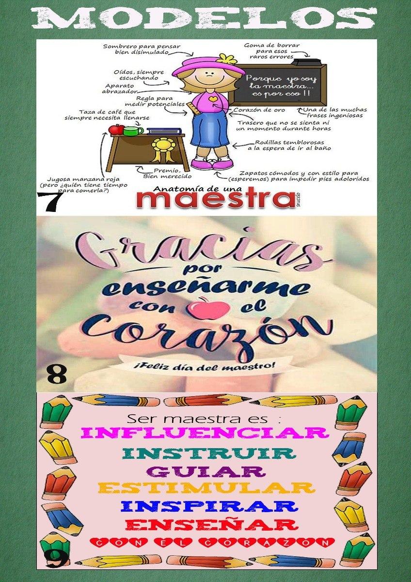 Cartuchera Cordura Personalizada 20x11 Dia Del Maestro - $ 28,00 en ...