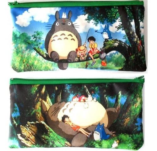 cartuchera de anime de mi vecino totoro miyazaki