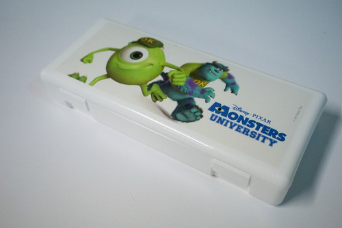 cartuchera escolar disney monster inc portacosmeticos utiles