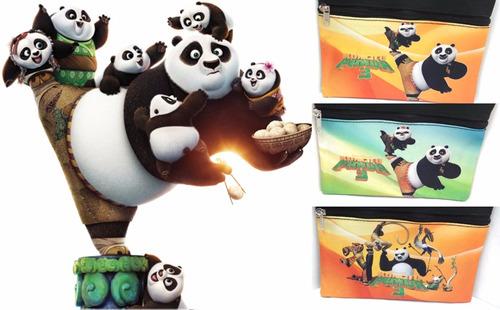 cartuchera kung fu panda 3 frozen sofia dra juguete regalo