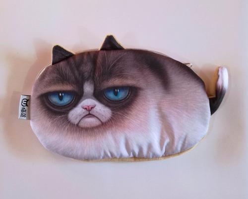 cartuchera monedero gato adorable kawai