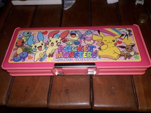 cartuchera original pokemon - nintendo