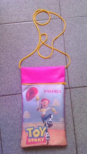 cartuchera personalizadas cotillon infantil en lona 26x18cm